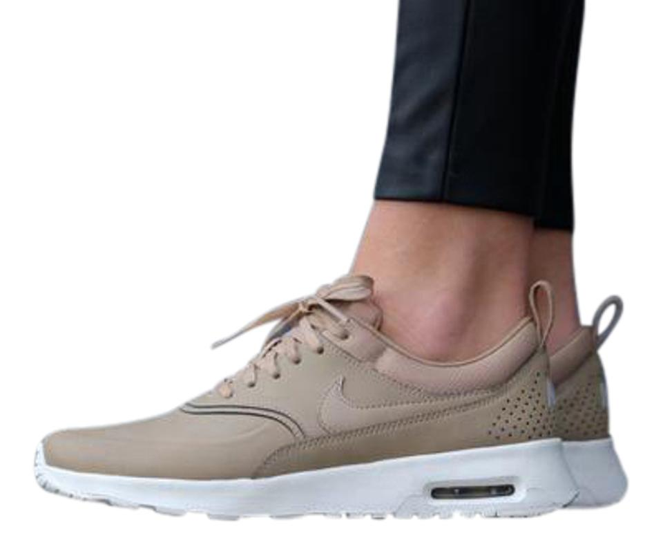 recognized brands check out hot sale online Nike Desert Camo New Womens Air Max Thea Premium Brown Tan Sail Sneakers  Size US 6.5