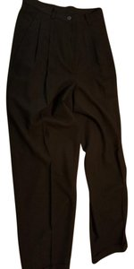DKNY Wool Trouser Pants Black