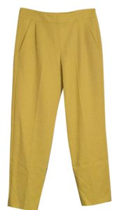 French Connection Trouser Pants Bright yellow
