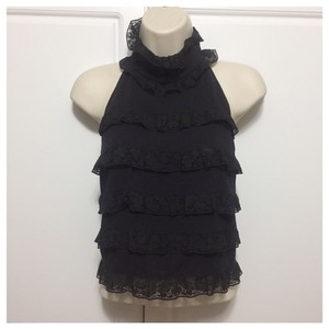 Fendi Black Halter Top