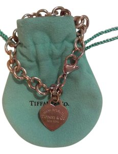 Tiffany & Co. Tiffany Chain Bracelet, Lightly Worn/WBag