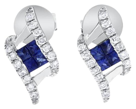 Preload https://img-static.tradesy.com/item/20575777/060-ct-natural-diamond-and-sapphire-fashion-stud-in-solid-14k-earrings-0-1-540-540.jpg