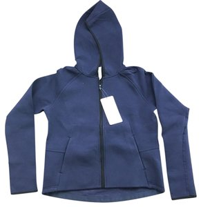 Lululemon Lululemon City Bound Navy Hoodie in Spacer Fabric