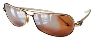 Chrome Hearts Chrome Hearts Sunglasses with gold frame and sterling silver details