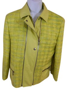 Akris lime Green Jacket
