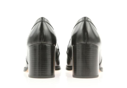Chanel Cc Loafer Coin Penny Black Pumps Image 2