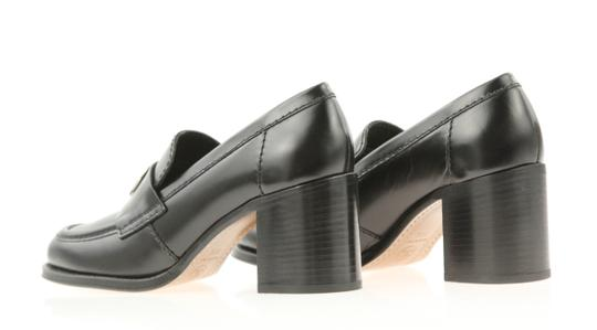 Chanel Cc Loafer Coin Penny Black Pumps Image 7