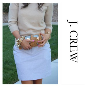 J.Crew Mini Skirt striped