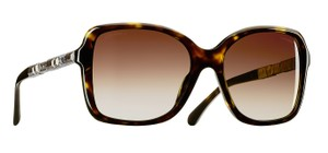 Chanel NEW Square Bijou Sunglasses CH 5308B c. 714/S5 Dark Tortoise gradient