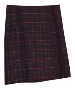 French Connection Mini Skirt Red multi