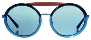 Louis Vuitton LOUIS VUITTON Louise Sunglasses Z0514U Blue