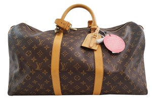 Louis Vuitton Lv Keepall 50 Monogram Duffle Travel Travel Bag