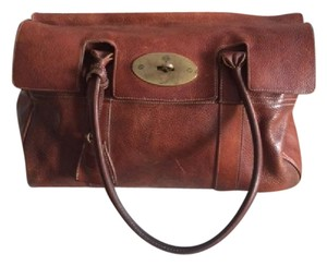 Mulberry Classic Boho Tote in Natural Brown Leather - Oak