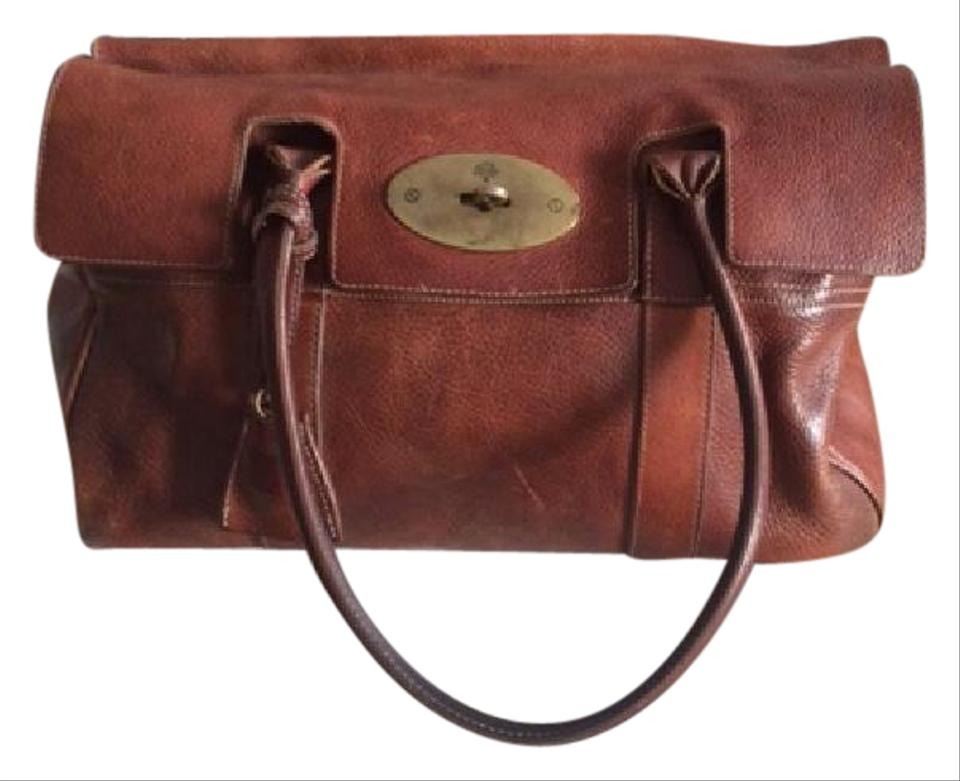 61913334dc Mulberry Bayswater Natural Brown Leather - Oak Tote - Tradesy