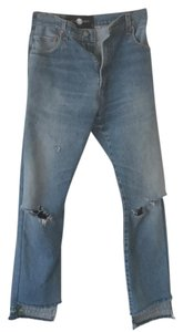 after party vintage Levi's Boot Cut Jeans-Distressed