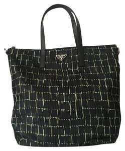 Prada Brand New Tote in Blue/Green