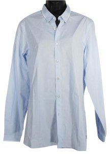 The Kooples Button Down Shirt Blue
