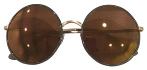 D&G Dolce Gabbana round sunglasses new with case