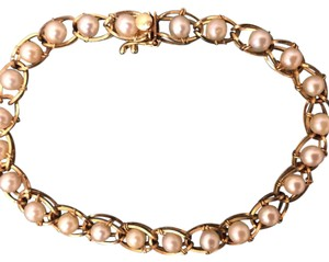 Other 14K Gold & Pearl Bracelet