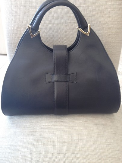 Gucci Leather Light Gold Hardware Made In Italy Hobo Bag