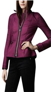Burberry Peplum Magenta Quilted Magenta purple Jacket