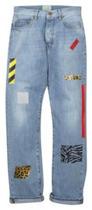 Aries Straight Leg Jeans-Medium Wash