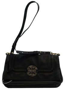 Tory Burch Amanda Leather Fold-over Shoulder Bag
