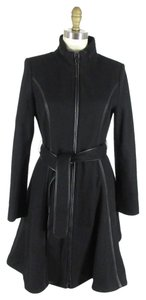 Dawn Levy Wool Designer Trench Coat