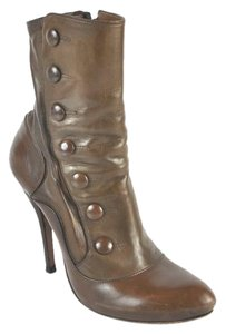 Alexander McQueen Ankle Size 39.5 Brown Boots