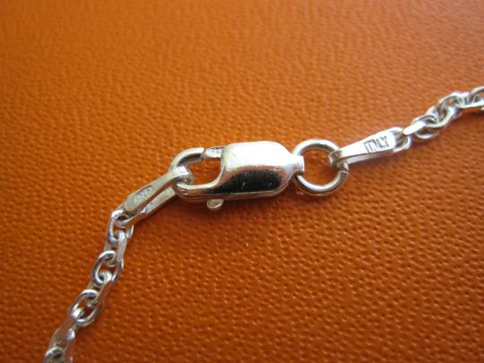 Hermès AUTH. HERMES SILVER STERING 925 NECKLACE WITH PENDANT