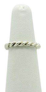 PANDORA Pandora Ale S925 48 Sterling Sliver Intertwined Twisted Ring
