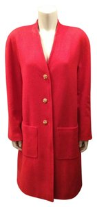 Chanel Jacket Cashmere Trench Coat