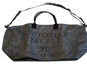 Victoria's Secret silver Travel Bag