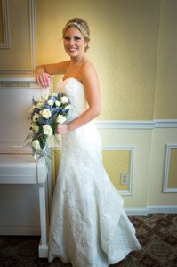 Oleg Cassini 7cwg594 Ivory Wedding Dress