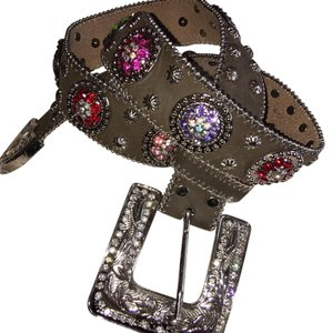 Nocona NOCONA LADIES RAINBOW CONCHO BELT