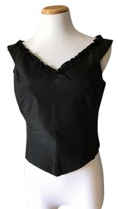 Oscar by Oscar de la Renta Top Black