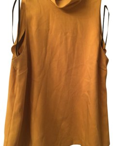 Forever 21 Top yellow mustard
