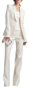 Monique Lhuillier Wide Leg Pants Winter white