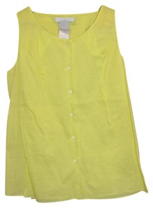 Chloé Button Down Shirt Yellow