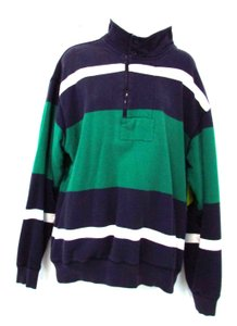 Nautica Striped Cotton Sweatshirt