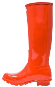 Hunter Gloss Tent Red Boots