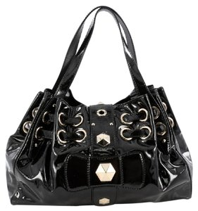 Jimmy Choo Patent Hobo Bag
