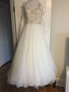 Allure Bridals Allure Couture Princess Wedding Dress Style C290 Wedding Dress