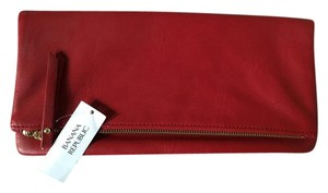 Banana Republic Red Clutch