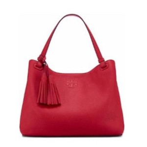 Tory Burch Tote in Rust Red