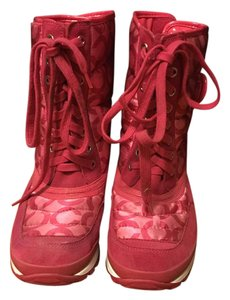 Coach Pink Boots