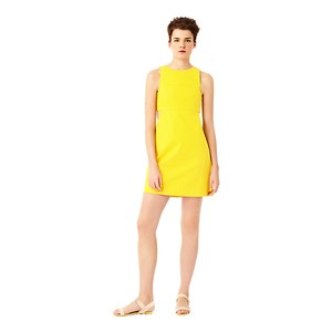 Kate Spade short dress Yellow Shift Sleeveless Summer on Tradesy