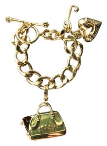 Juicy Couture Juicy Couture Charm Bracelet with Scottie Dog in Green Purse Charm