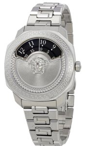 Versace Versace Dylos Black Rotating Disc Dial Ladies Watch