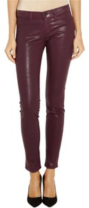 J Brand Coated Skinny Jeans-Coated